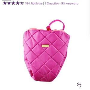 Tarte Pink Drawstring Travel Cosmetic Bag